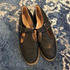 Top shop buckle shoes